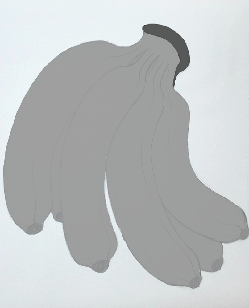 How to draw a banana_Light and shadow step-by-step_add local tones