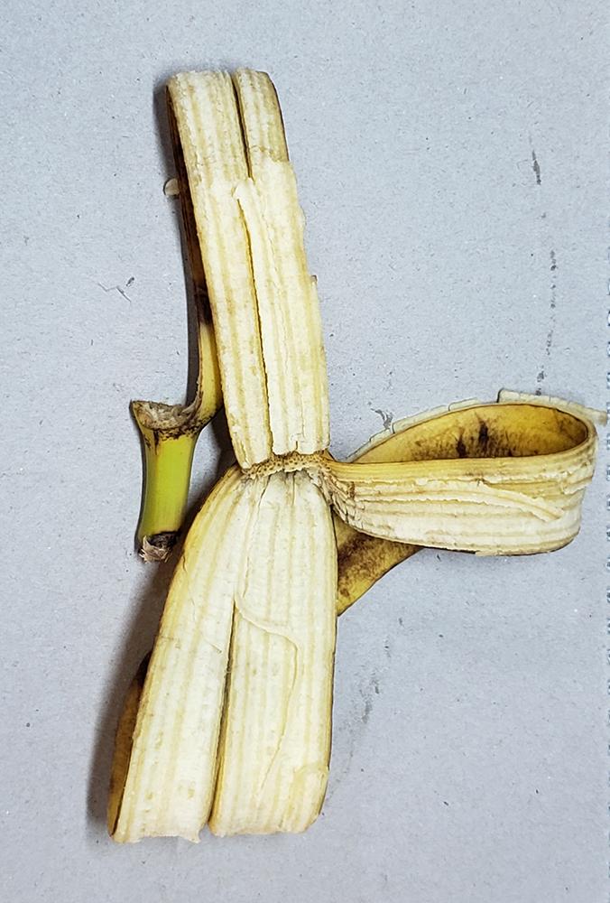 How to draw a banana_banana peel reference 03