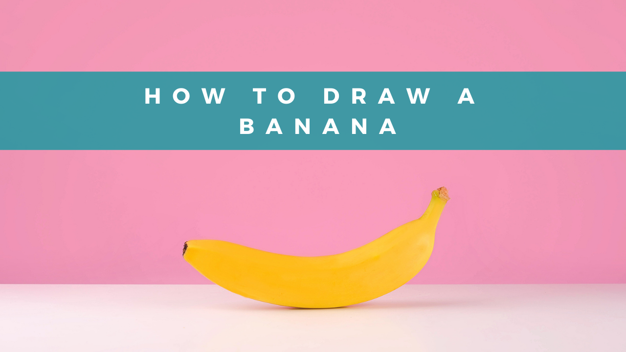 How to draw a banana drawing tutorial