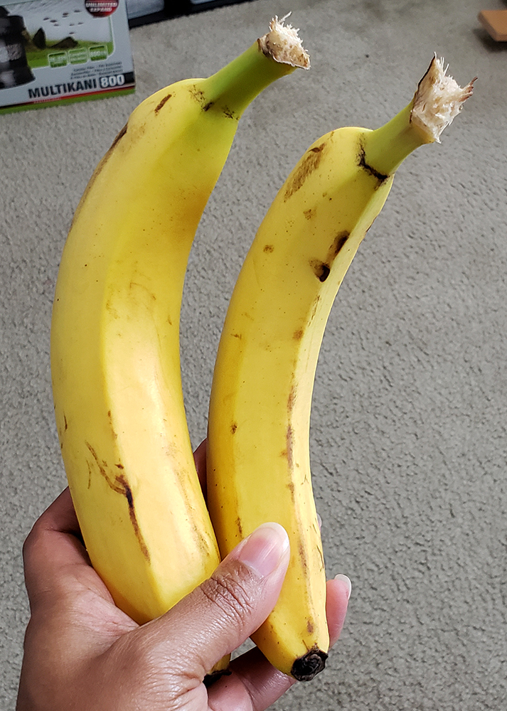How to draw a banana_three-quarter view reference