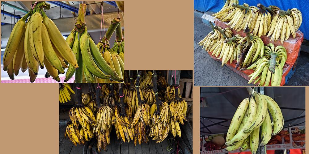 how to draw a banana_Pisang Tanduk bananas