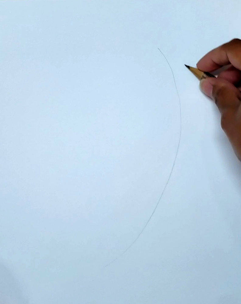how to draw a banana_step by step 01