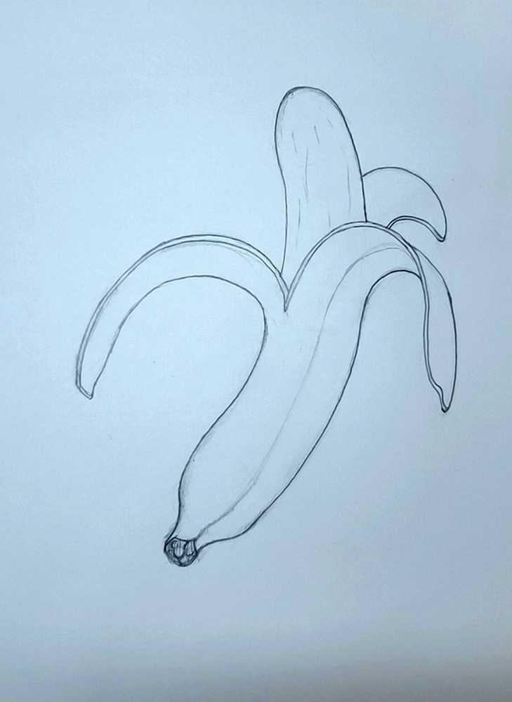 how to draw a banana_step by step 06 final
