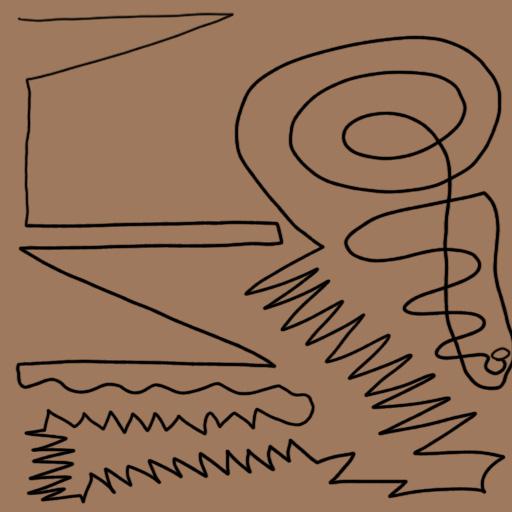 Line Type in Art Zigzag