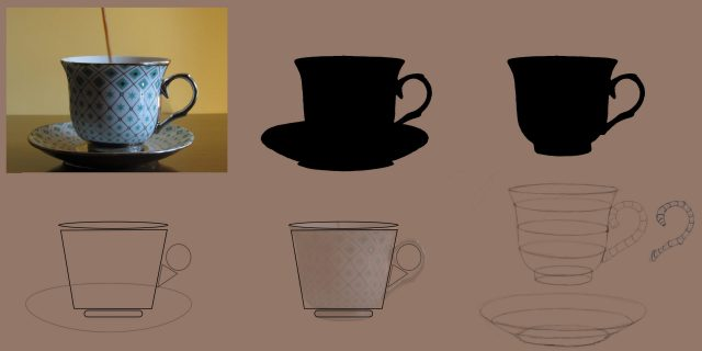 Form Breakdown-Teacup and Saucer