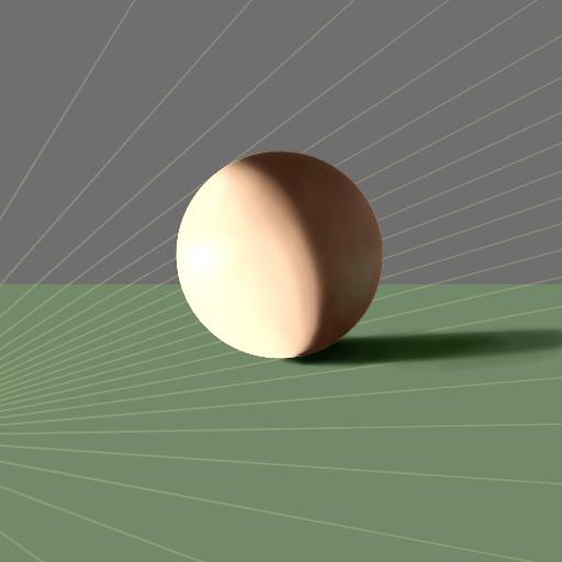 Sphere Test overexposed