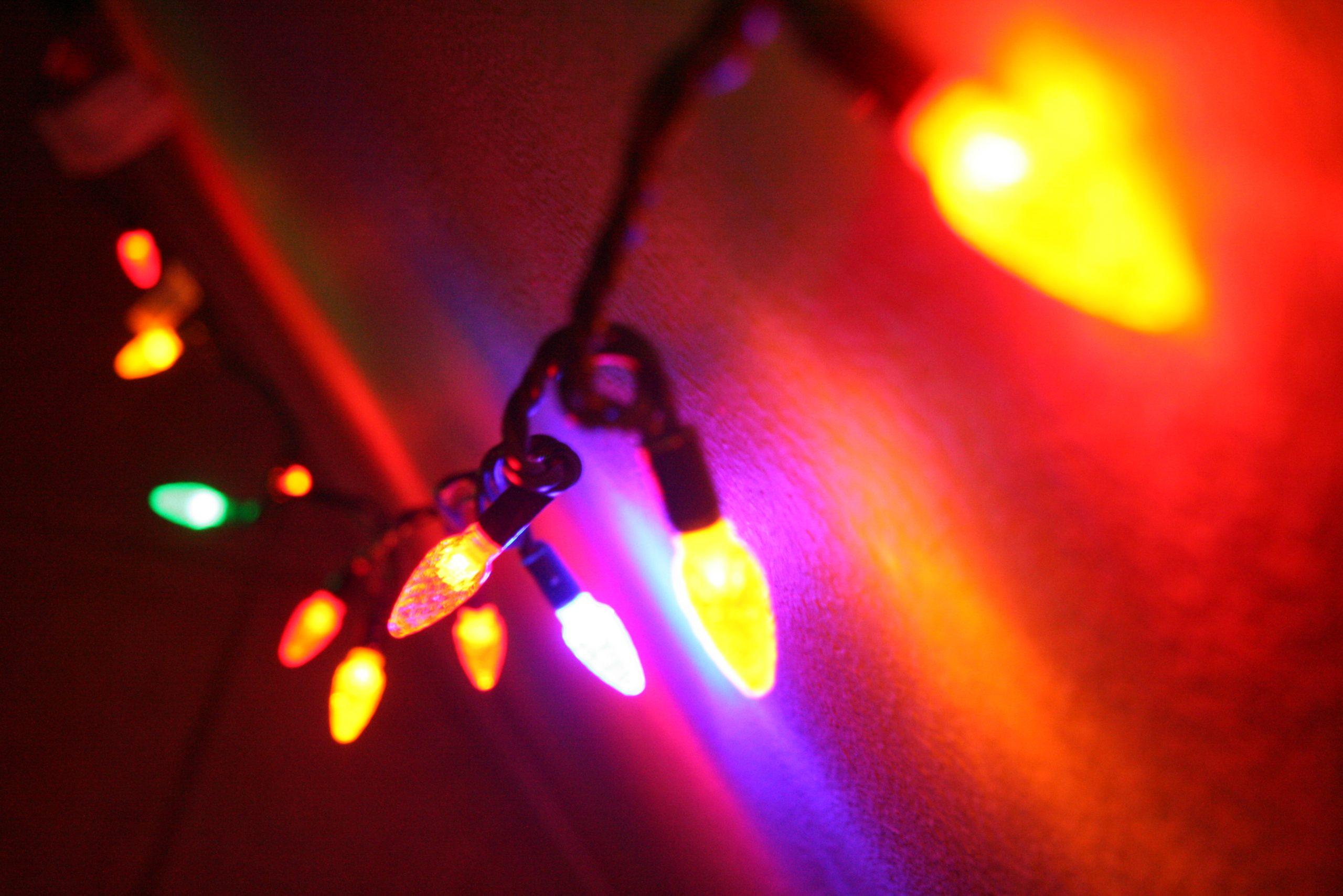 Nearby Light Source Twinkle Lights
