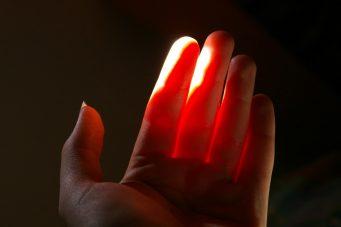 light transmission on skin subsurface scattering