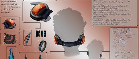 CecelyV Ear Prosthetic Design