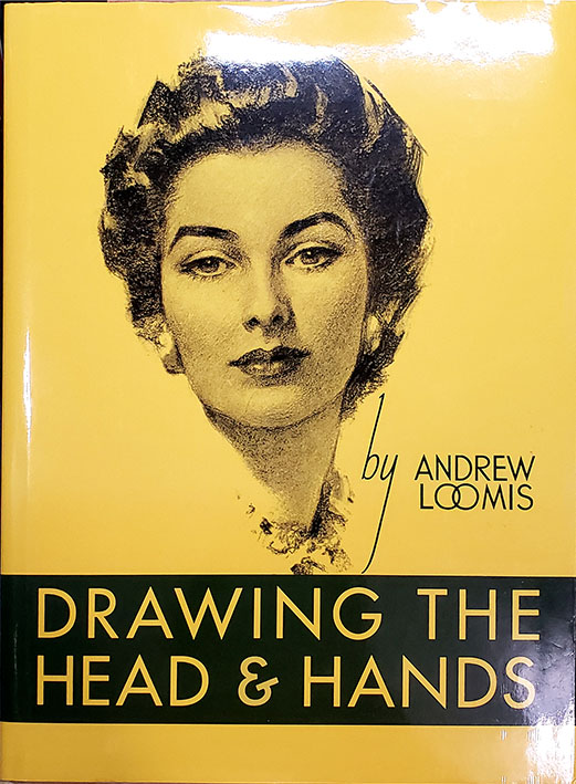 Andrew Loomis Books Drawing the Head and Hands