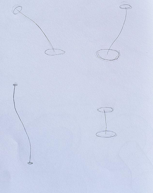 How to draw a mushroom_form construction 02
