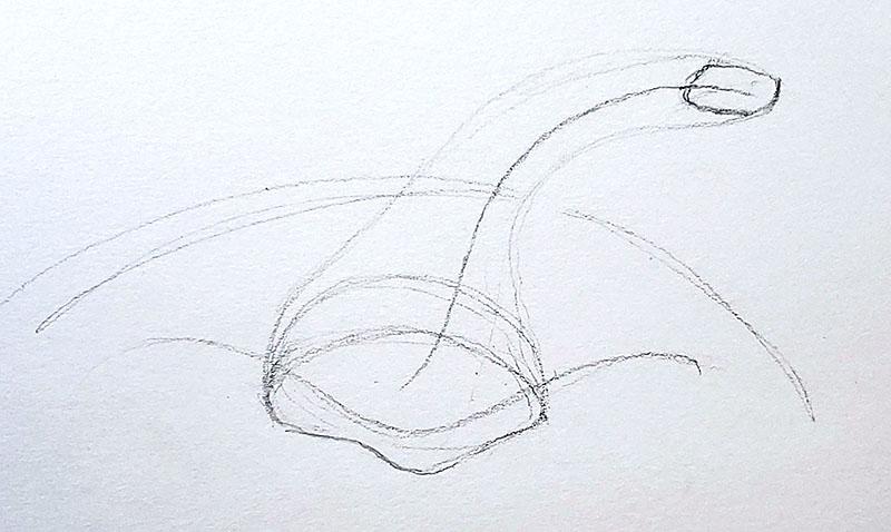 How to draw a pumpkin_Step by step 04c pumpkin stem