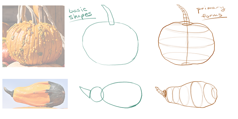 How to draw a pumpkin_about details_01 shapes & forms breakout