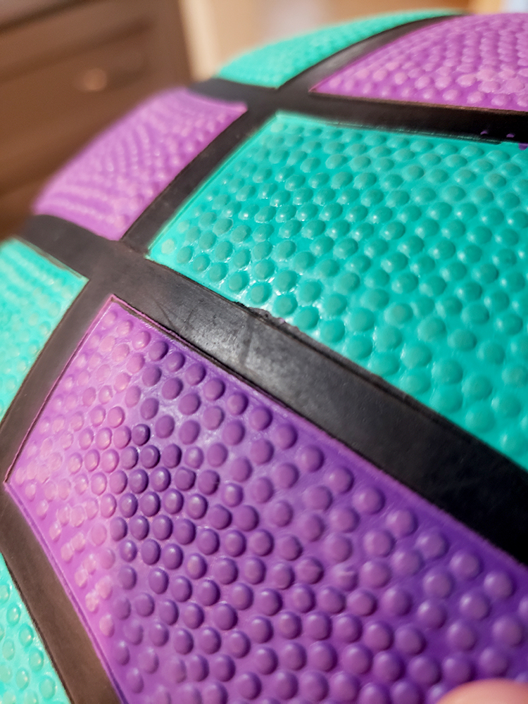 how to draw a basketball_ball texture closeup 02