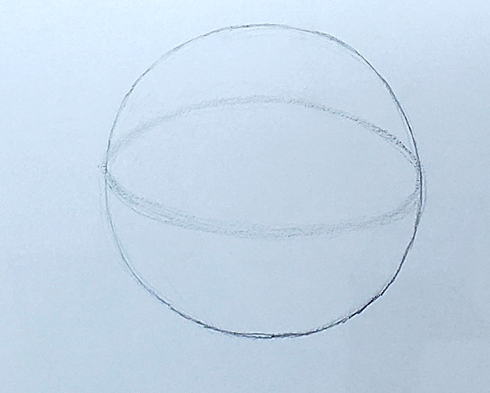 how to draw a basketball step by step 02