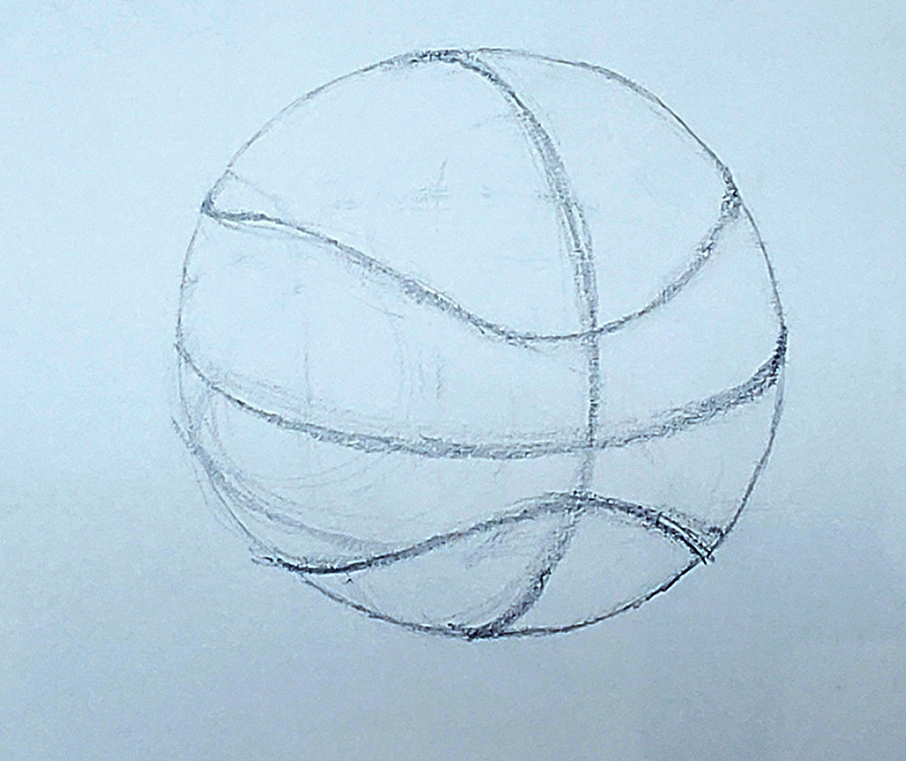how to draw a basketball step by step 08