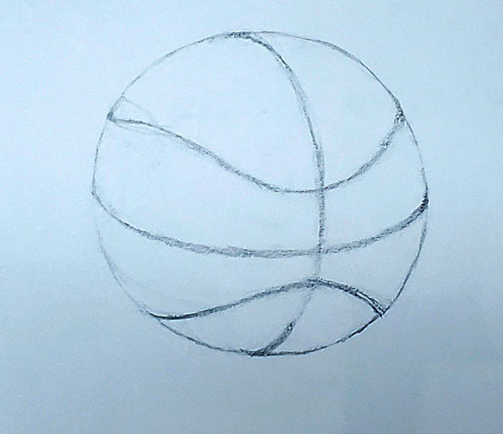 how to draw a basketball step by step 09