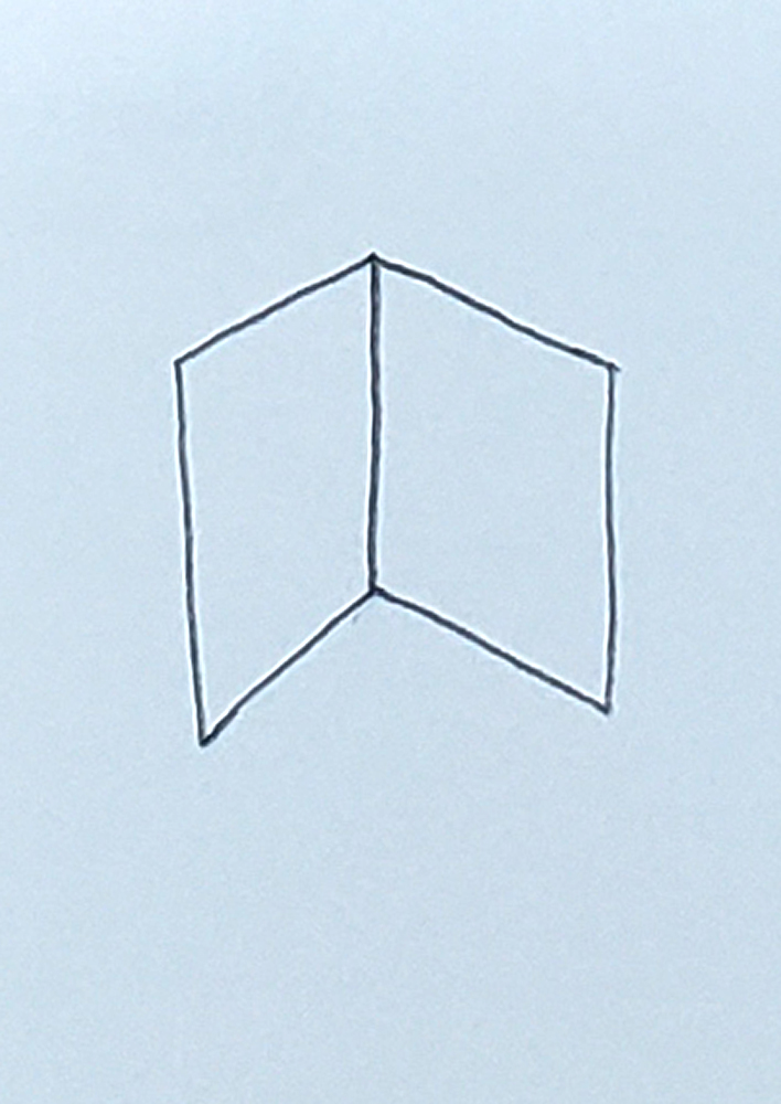 how to draw a cube_headless stick figure step 2