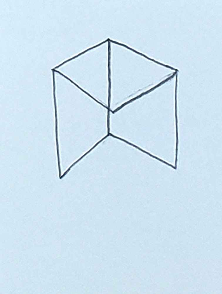 how to draw a cube_headless stick figure step 3