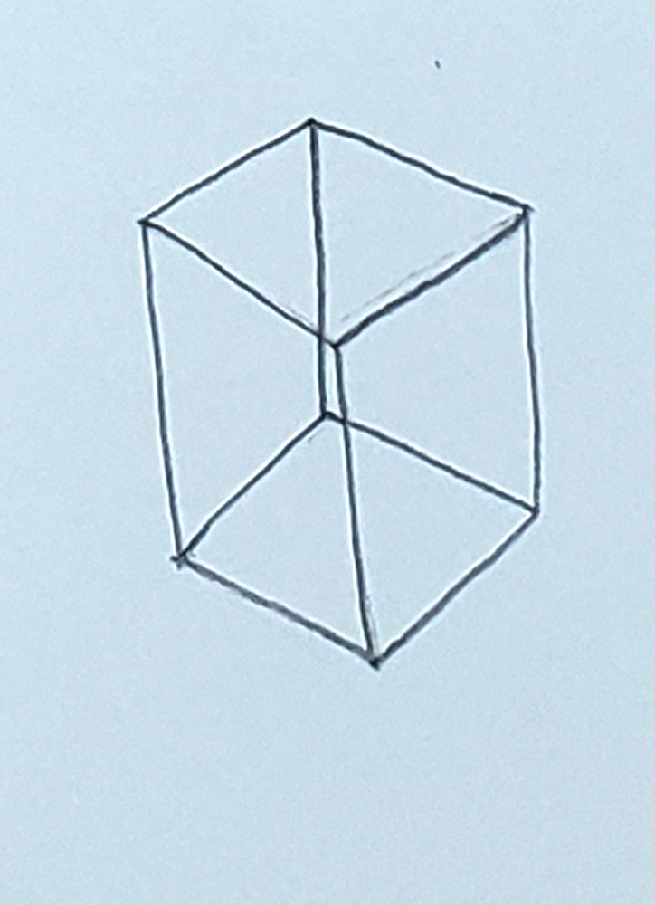 how to draw a cube_headless stick figure step 5