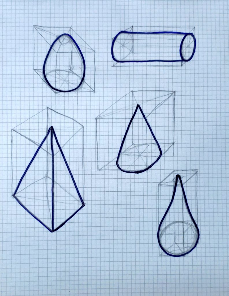 how to draw a cube_more forms from cubes 02