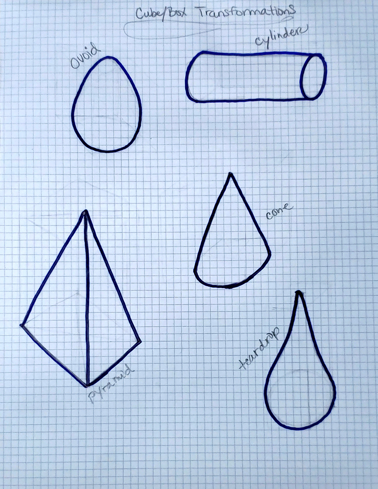 how to draw a cube_more forms from cubes 03