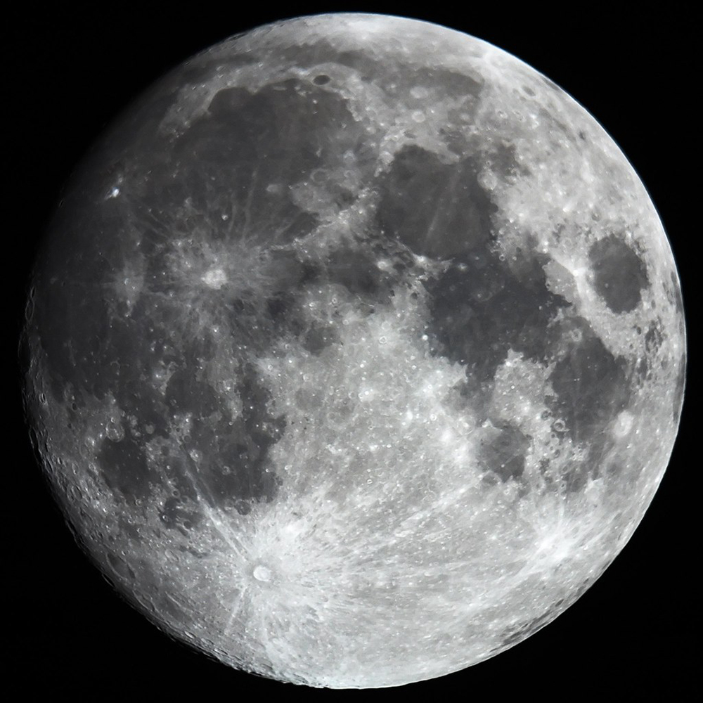 reflected light - reflectors the moon